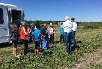 Community Visit to Potential Sites